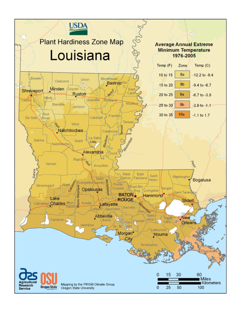 louisiana-plant-hardiness-zone-map