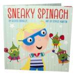 book_cover_Sneaky_spinach_Alexis_Schulze_Sophia_Hanton