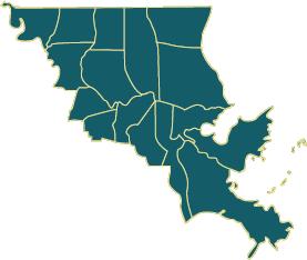 southeast-regional-map